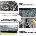 GaryLittl Anti-Slip Circle/Round Floor Mat Border Collie Donuts Doormats - Machine Washable Kitchen Office Soft Flannel Playmat, Bedroom/Living Room/Bathroom Fashion Home Decor Rug 9