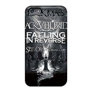 Iphone 6plus Wvp1320RFzQ Black Veil Band Tpu Silicone Gel Case Cover. Fits Iphone 6plus