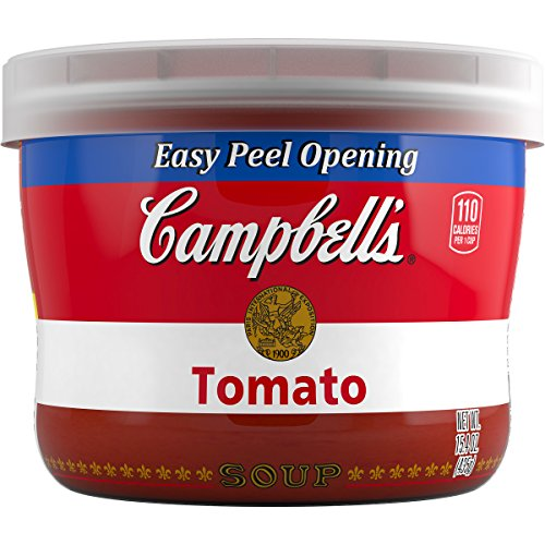 Campbell's Soup, Tomato, 15.4 Ounce (Pack of 8) (Campbells Tomato Soup)