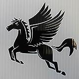 zodiac trailer - Pegasus Flying Horse Vinyl Decal