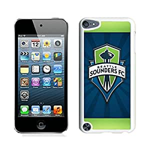 Unique iPod Touch 5 Screen Case ,Popular And Durable Designed Case With Seattle Sounders FC 19 White For iPod Touch 5 Phone Case Great Quality Cover Case