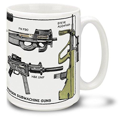 machine gun coffee mug - 4