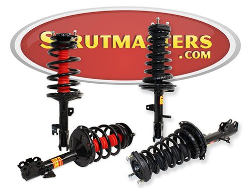 Strutmasters 4 Wheel Air Suspension Conversion Kit for 2003-2008 Lexus RX330 FWD