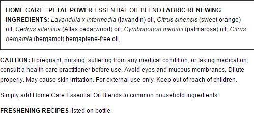 Aura Cacia Petal Power Essential Oil Blend for Home Care, 2 Fluid Ounce