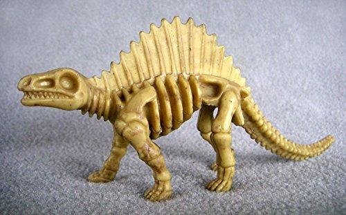 Dimetrodon Bones one-piece skeleton replica 6 inches long - F3292 B66 (Piece Replica One)