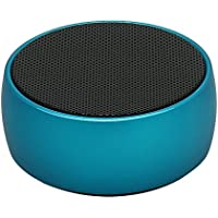 Bluetooth Speakers, Lonsc Protable Bluetooth Speakers with Eye-catching Metal Steel, Superior Subwoofers, Bluetooth 4.0, Bass Wireless Bluetooth Speaker for iPhone iPad Samsung PC etc.(Blue)