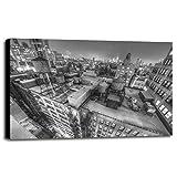 Gotham City 13-2 Framed Print 30.0''x45.0'' by Moises Levy