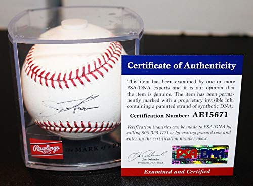 Jim Thome Autographed Signed Official MLB Baseball White Sox Twins 600Hr PSA/DNA JSA Sweet Spot ()