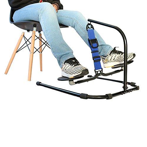 HOVR Portable - Under Desk Leg Swing, Sitting Exercise, Office Workout (Blue)