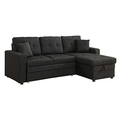 Amazoncom Milton Greens Stars Darwin SECTIONAL Sofa with Storage