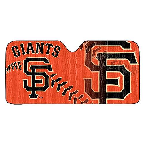 (ProMark MLB San Francisco Giants Auto Sun ShadeAuto Sun Shade 59x27, Team Colors, One Size)
