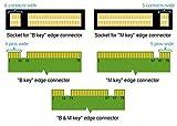 Dual M.2 PCIe Adapter, M2 SSD NVME (m key) or SATA