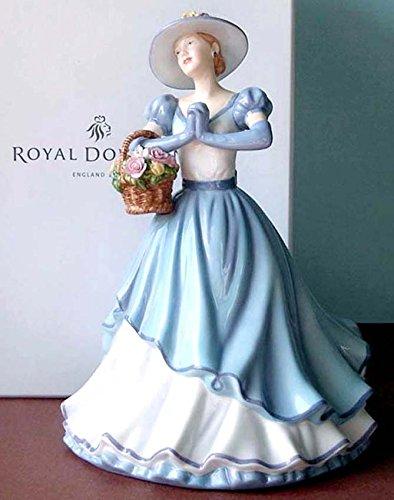 Birthday Figurine Royal Doulton (Royal Doulton Happy Birthday Pretty Ladies Figurine 2011 New in Box)