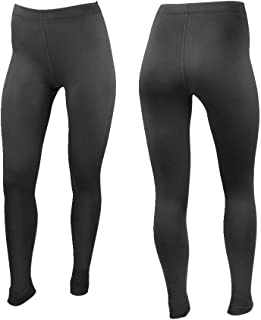 product image for AERO|TECH|DESIGNS Women's Stretch Fleece Compression Tights - Made in The USA