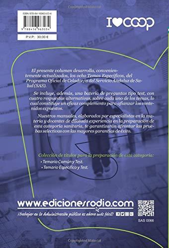 Celador/a. Servicio Andaluz de Salud (SAS). Temario Específico y Test (Spanish Edition): Varios Autores: 9788416963034: Amazon.com: Books