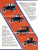 1923 FORD MODEL T PASSENGER CARS DEALERSHIPS SALES BROCHURE - ADVERTISEMENT - Includes Coupe, 4-door Sedan, Touring Car, Runabout