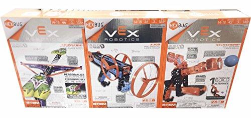 Hexbug VEX Robotics Bundle: CROSSFIRE, SWITCHGRIP, Z-360 (3 packs) by VEX