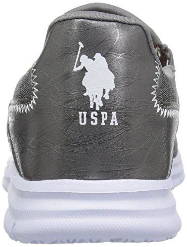 Assn U Women's Oxford Polo S Grey J Mona Flat qP6AExv