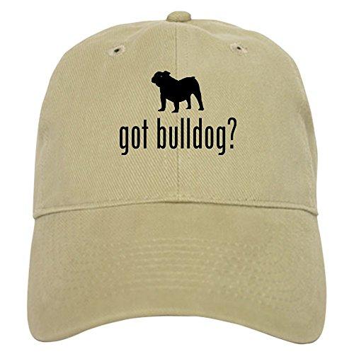 CafePress Old English Bulldog - Baseball Cap with Adjustable Closure, Unique Printed Baseball - Hat Bulldog