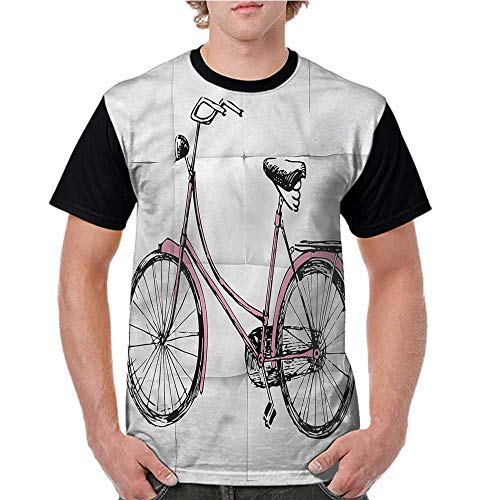 - Short Sleeve Blouse,Retro,Vintage Bike Hipster Urban S-XXL Women O Neck Casual T Shirt