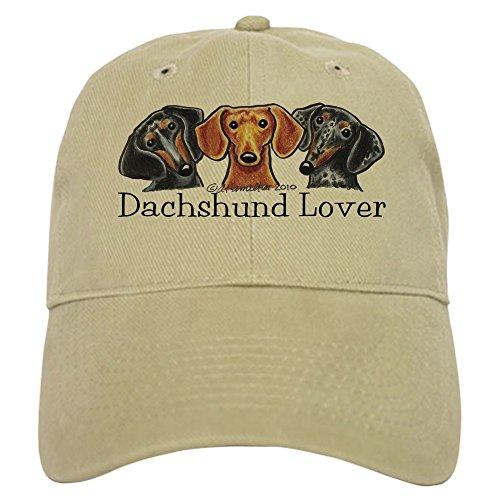 CafePress - Dachshund Lover - Baseball Cap with Adjustable Closure, Unique Printed Baseball Hat -