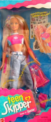 Barbie Teen Skipper Doll. All Grown Up!