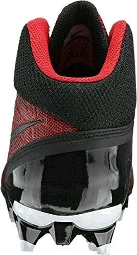 Nike Mens Cj Strike 3 Tacchetta Da Football College Università Rosso / Nero / Bianco
