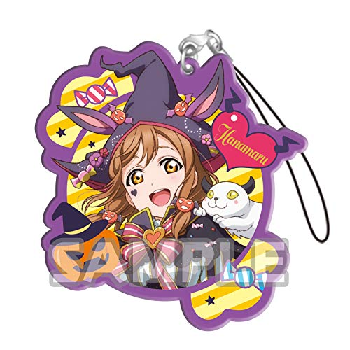 Bushiroad Love Live Sunshine!! Hanamaru Kunikida Halloween Ver. Character Gacha Capsule Acrylic Straps Mascot Collection Vol.3 Anime Art]()