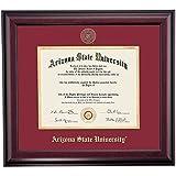 Arizona State ASU Sun Devils Diploma Frame Maroon Gold Matting Embossed Seal