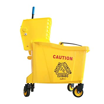 HT trolley Carrito de Limpieza, Bote de Limpieza del hogar 24L / 32L / 36L con Filtro de Agua y Separador (Tamaño : 42 * 39 * 91cm): Amazon.es: Hogar