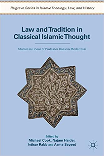 Law and Tradition in Classical Islamic Thought: Studies in Honor of Professor Hossein Modarressi (Palgrave Series in Islamic Theology, Law, and History)