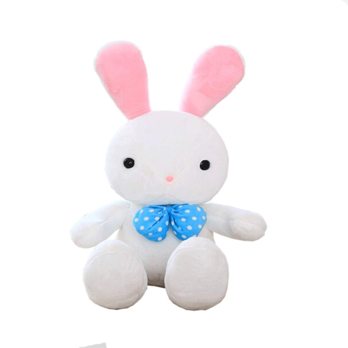 White 60cm White 60cm Xionghaizi Plush Toy Rabbit, Rogue Rabbit Figurine, Pillow, Birthday Present, White Pink, Best Gift Latest Models (color   White, Size   60cm)
