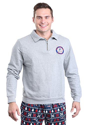 - Junk Food New England Patriots Side Line Sweater Mens - 2X