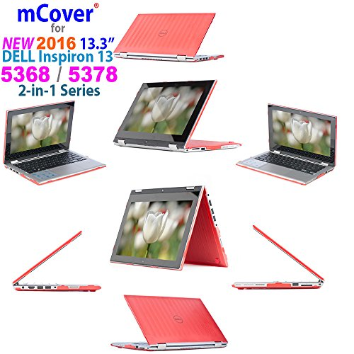 """iPearl mCover Hard Shell Case for 2016 13.3"""" Dell Inspiron 1"""