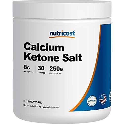 Nutricost Calcium Exogenous Supplement Beta Hydroxybutyrate