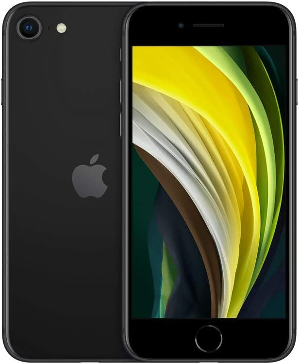 Apple iPhone SE, 64GB, Black - for Boost Mobile (Renewed)