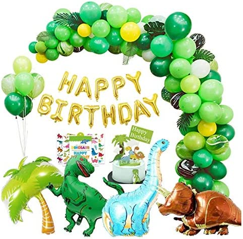 Dinosaur Friends Birthday Party Supplies Tableware Balloons /& Decorations