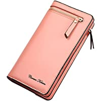 Lorna Imported Women/Girl's Designer Long Zipper Wallet