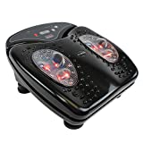 U.S. Jaclean Foot Massager Vibration for Blood Circulation Booster with Infrared Heat Therapy FootVibe Pro