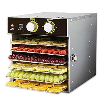 Deshidratador de Alimentos Profesional 500W Secador digital de alimentos y deshidratadores eléctrico profesional de 220 voltios para secadora de vegetales ...