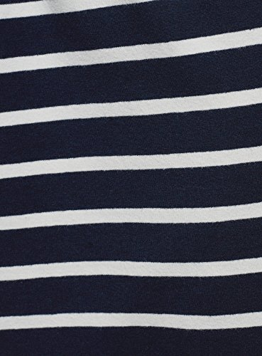 oodji Cordon Serrage avec en Maille Femme de Bleu Ultra Jupe 7912s 7wqpx7r6A