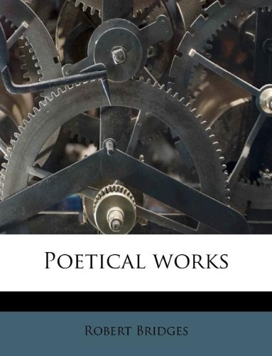 Read Online Poetical works Volume 04 pdf epub