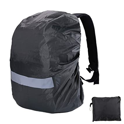 1645671940ec Amazon.com: Ultralight Backpack Rain Cover with Portable Storage ...