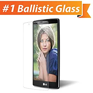iGotTech LG G4 Glass Screen Protector - Edge to Edge Tempered Glass Tech Shield - Military Grade TruClear Ballistic Glass Maintains 99.9% Clarity & Touchscreen Accuracy
