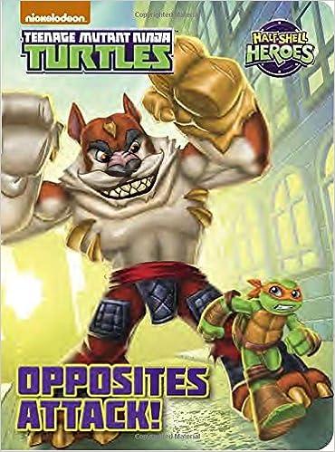 Amazon.com: Opposites Attack! (Teenage Mutant Ninja Turtles ...