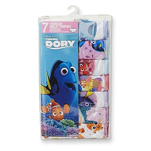 Disney Girls Finding Dory 7 Pack Panty