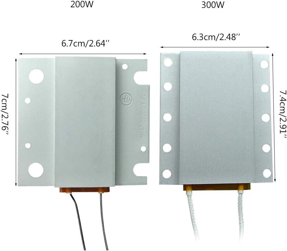 300W Led Remover BGA Demolici/ón de Chip de Soldadura PTC Placa de Calentamiento 260//270 ℃ Chip de Soldadura de Calentamiento BIlinli 220V 200