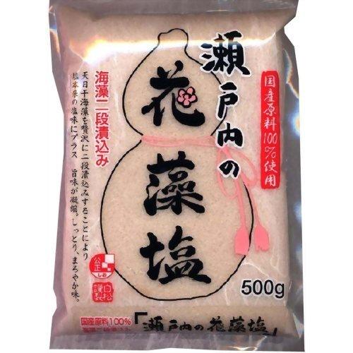 瀬戸内の花藻塩 500gの商品画像