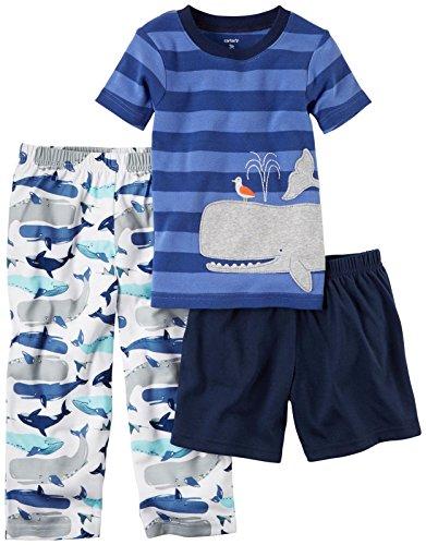 Carters Boys 12M 5T 3 Piece Whale