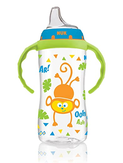 NUK Jungle Designs Large Learner Cup in Patterns, Boy Review